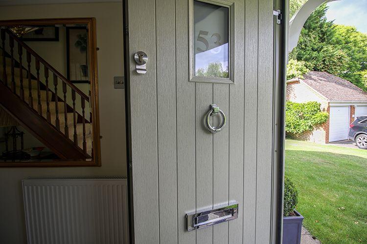 Apeer Composite Front Door, Bagshot, Surrey   Thames Valley Windows