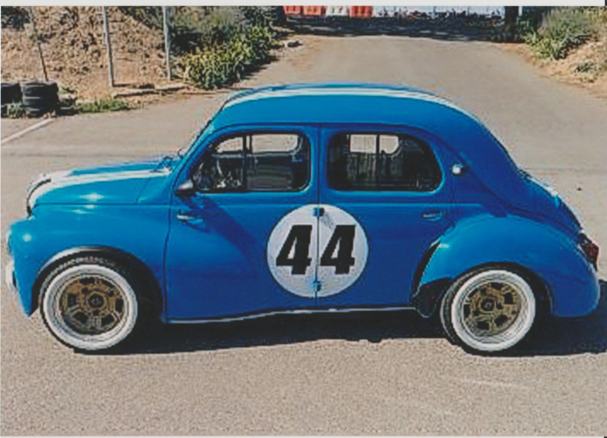 4 Cv Proto Inconnu Pays Portugal Renault Voiture Sport