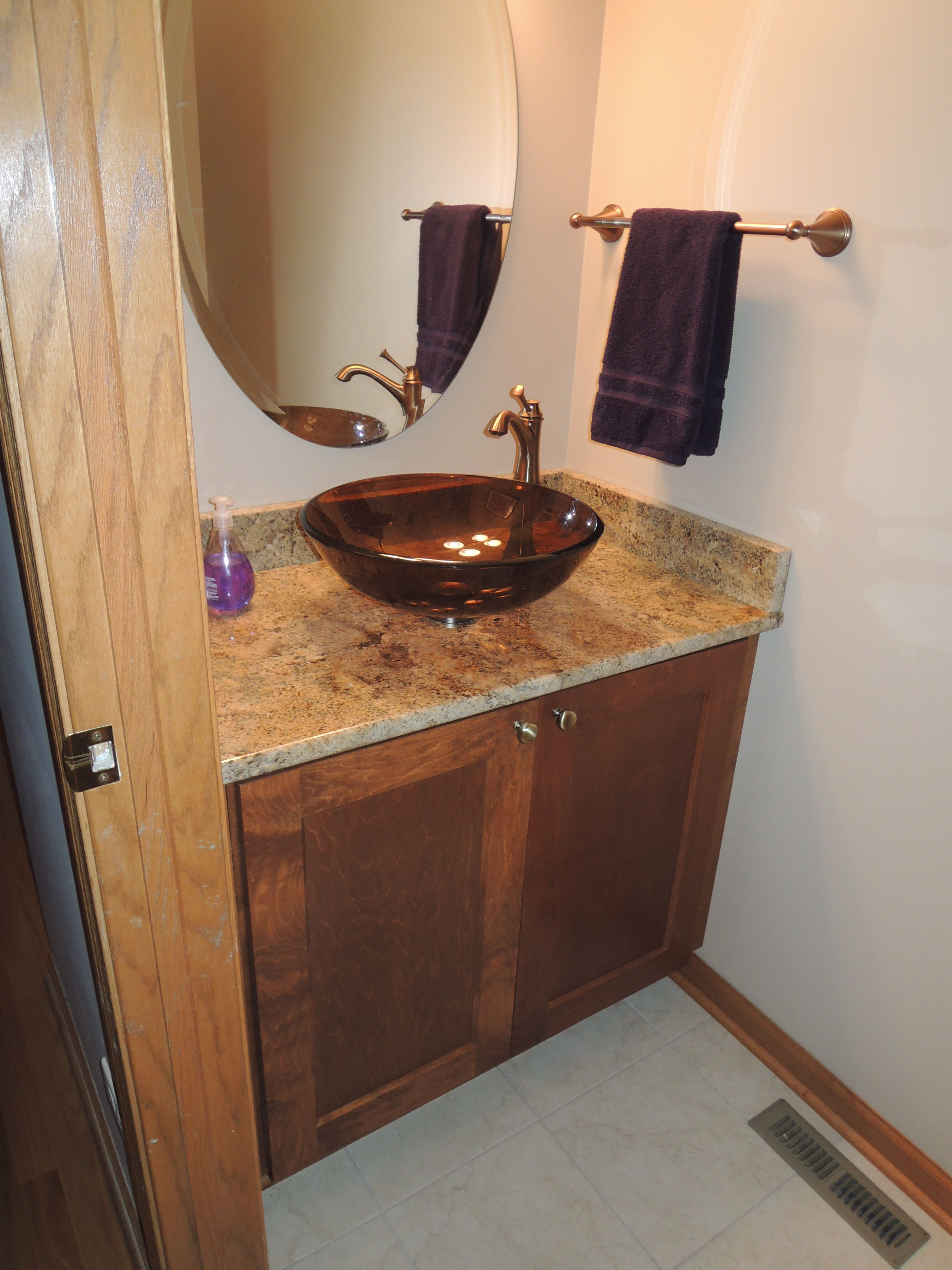 Scholl Construction In Crystal Lake IL Updated This Bathrooms Look - Bathroom remodeling crystal lake il