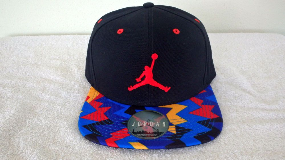 Hat Red Men VII Nike Air Jordan Retro 7 Snapback Z Black Cap  718750-016    AirJordan  Athletic bbcbe360198