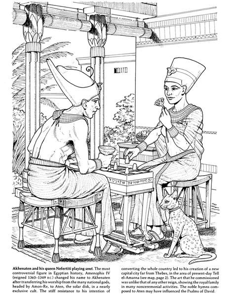 Ancient Egypt Lapbook Egyptian Art Coloring Books Coloring Pages