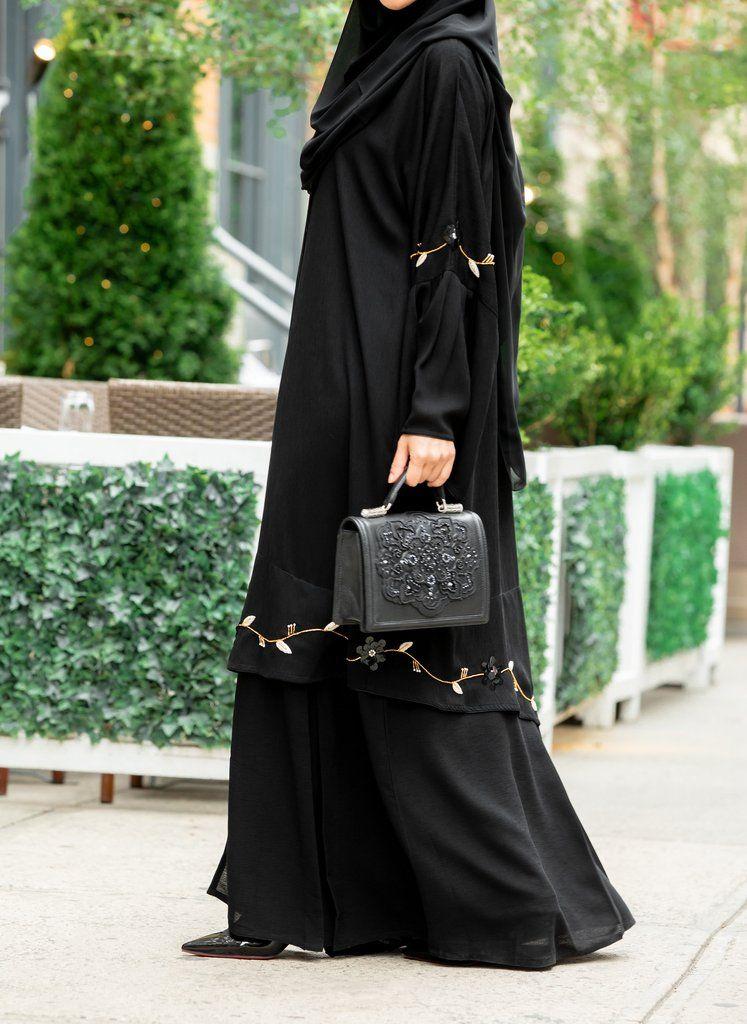 Khalilah Abaya Al Shams Abaya 3 Fashion Abaya Fashion New Abaya Style