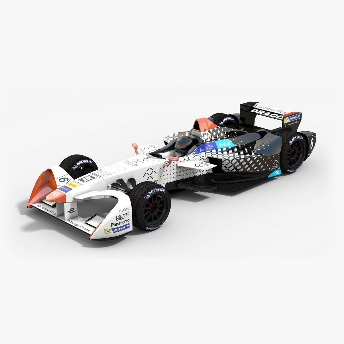 Have You Heard Of Faraday Future Dragon Racing Formulae Team