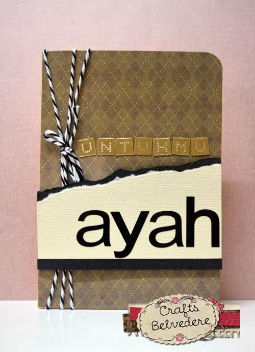 Kad Hari Bapa Untukmu Ayah Father S Day Card For You Dad My