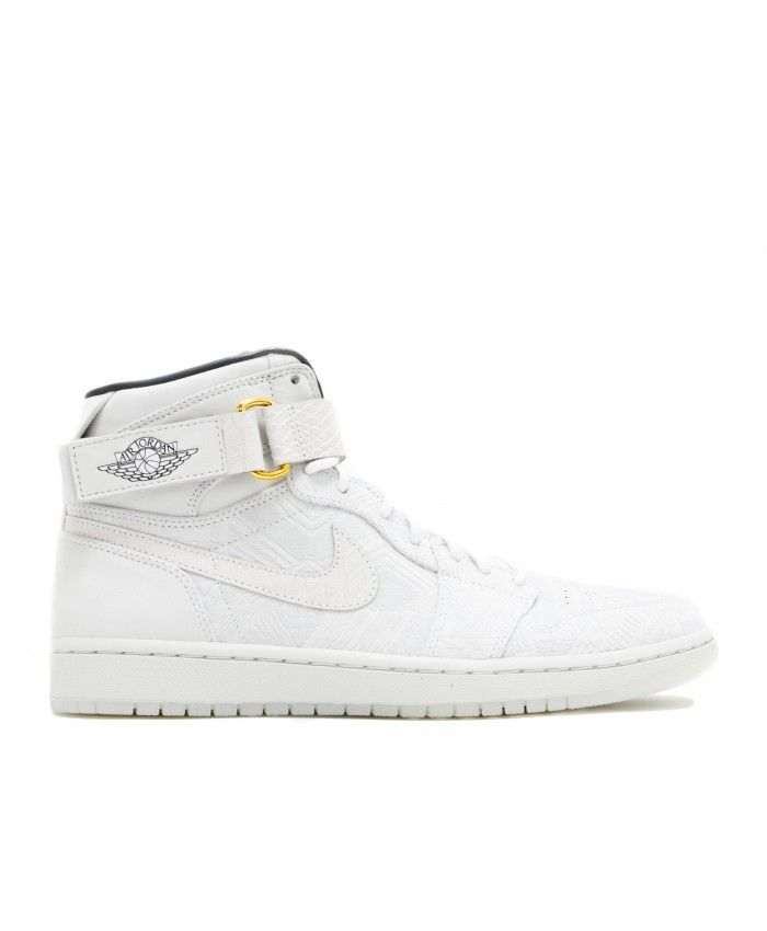 size 40 391f1 a3e96 Air Jordan 1 High Strap Just Don Bhm White Black 540847 847 | air ...