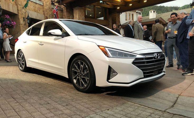The All New 2019 Hyundai Elantra Compact Sedan Will Get A Brand New