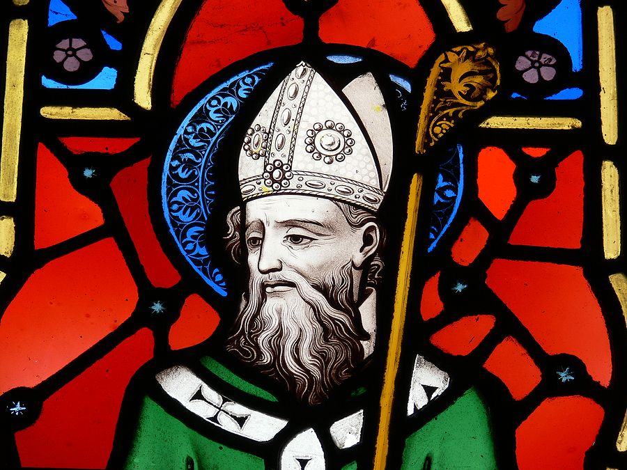 """Tomorrow is St. Patrick's Day. Along with the corned beef and cabbage and the wearing of the green, a great way to commemorate the life of this popular saint with our children is to say the Breastplate of St. Patrick prayer. This is also called the Lorica of St. Patrick.    The entire prayer (or hymn) is pretty long, especially for young children. So you can also just do the most well know verse, which starts """"Christ with me, Christ before me, …"""""""