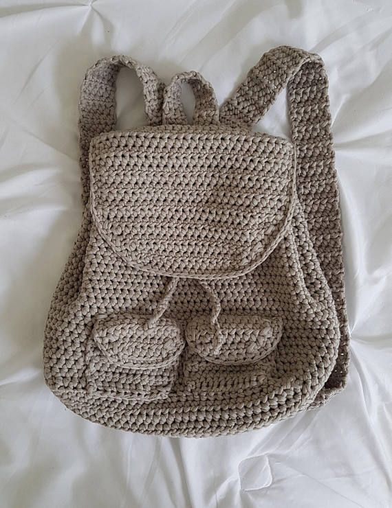 Pdf Crochet Pattern To Make The Little Backpack Included Are