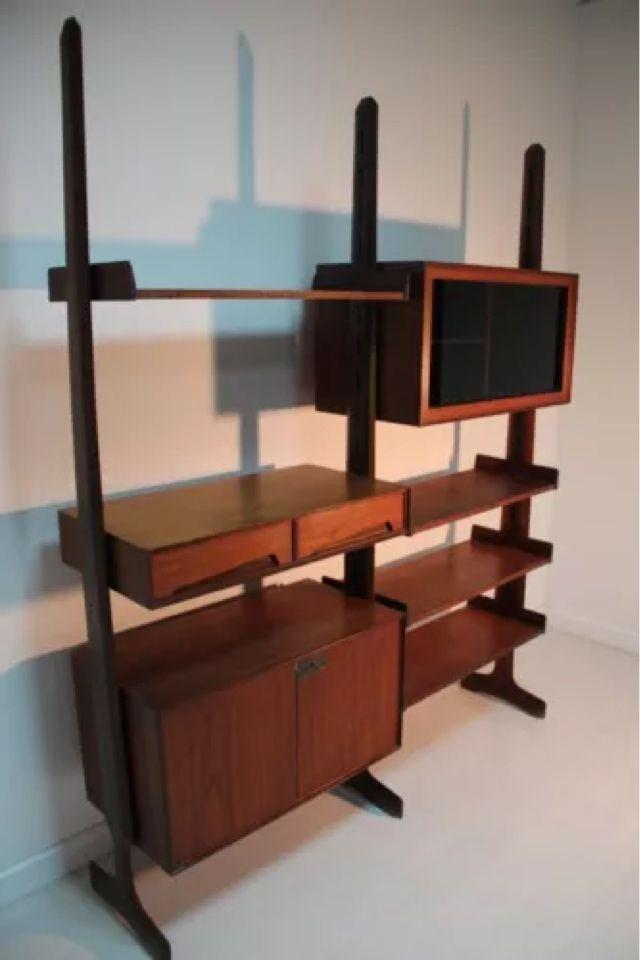 shelving mahogany bookcasemid shelving