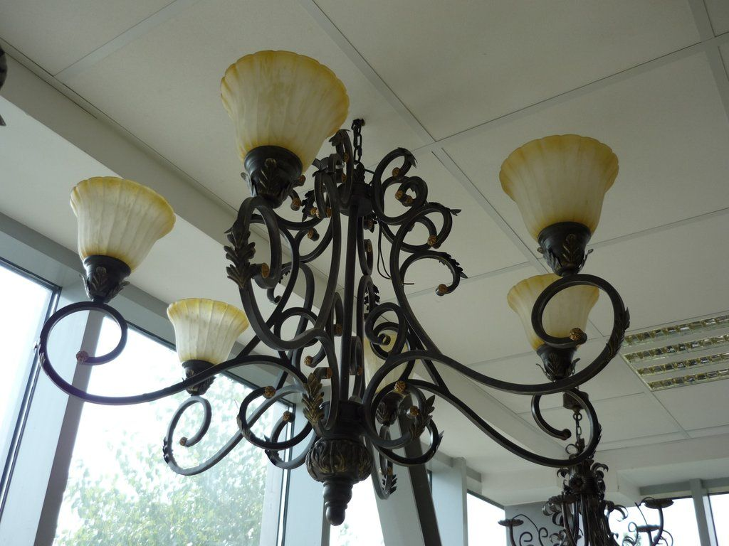 Wrought Iron Chandelier 27-51 - eWrought Iron - Components & Furniture
