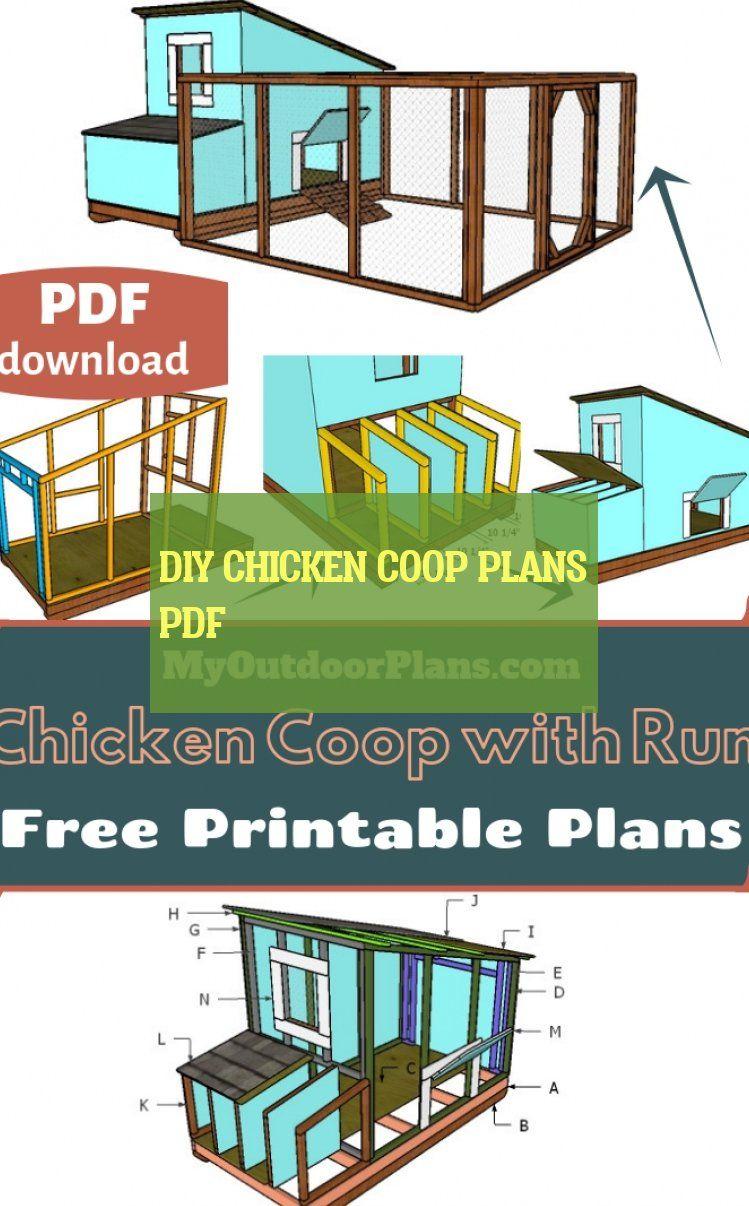 diy chicken coop plans pdf
