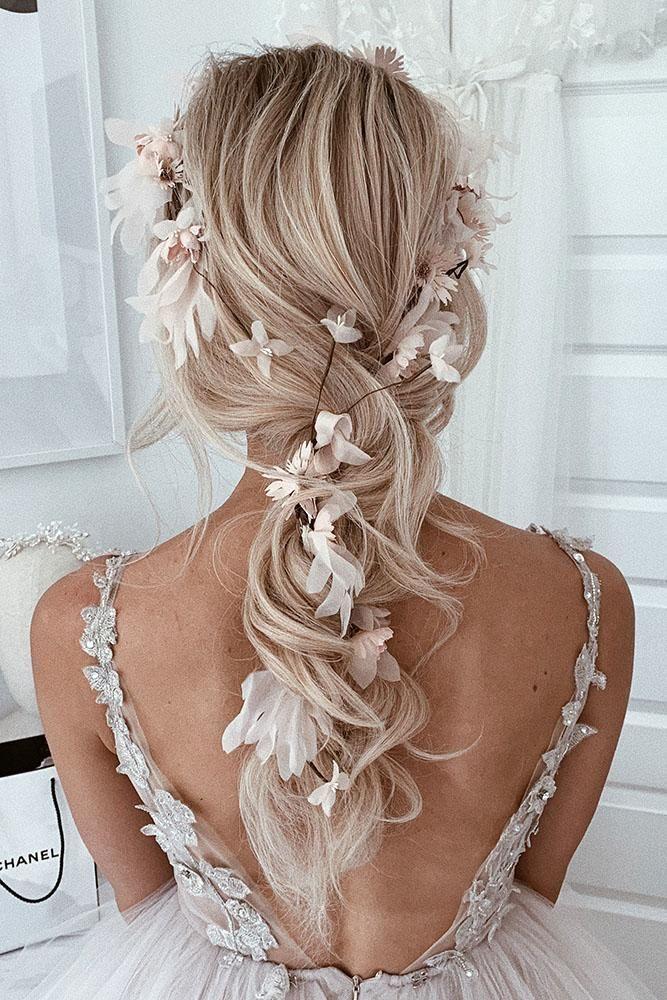 36 Hochzeitsfrisuren für langes Haar von Ulyana Aster – Kurzhaar Frisuren