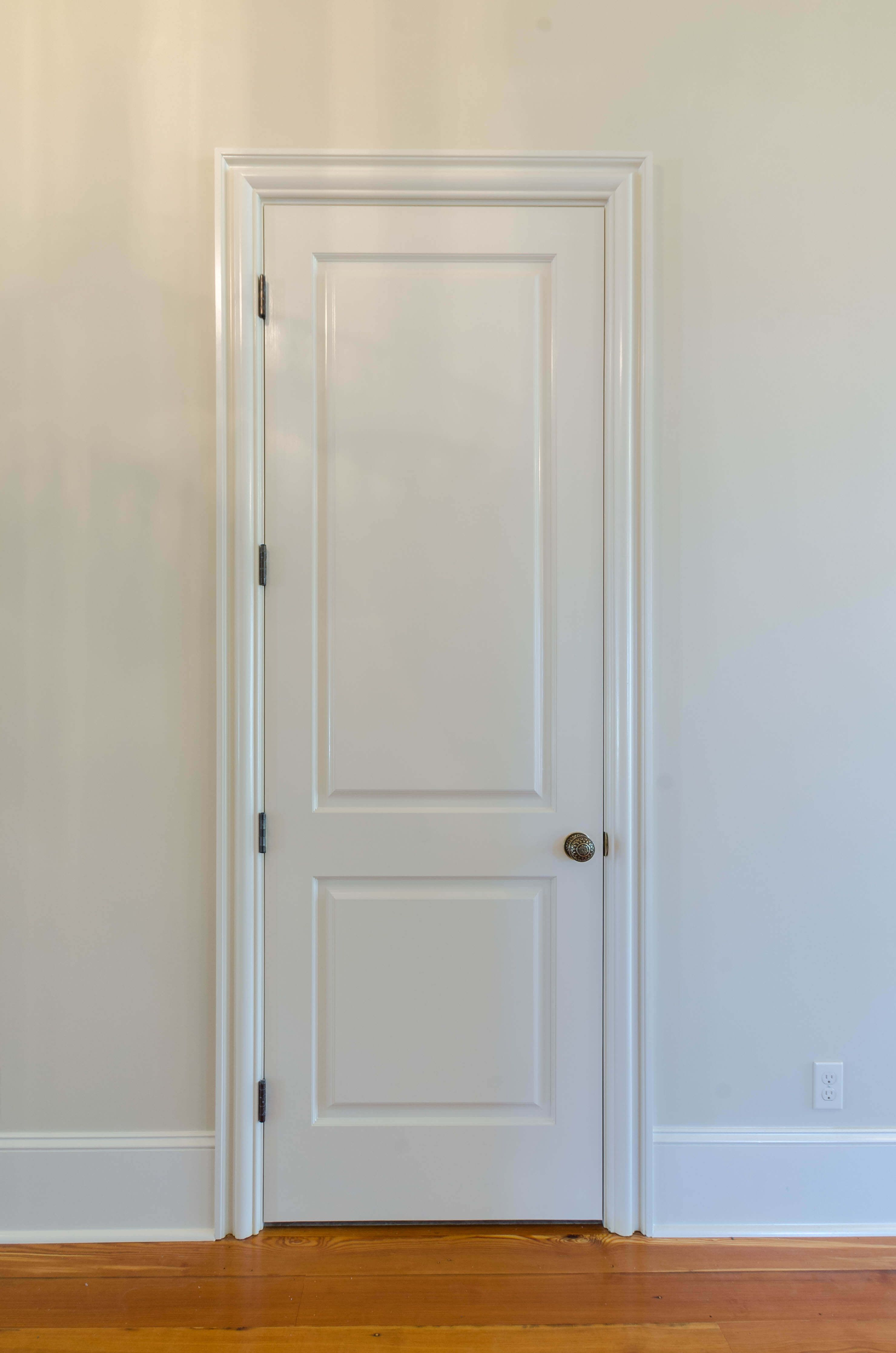 Like The Door Style And Trim And Baseboards Doors Interior Southern Style Homes Doors