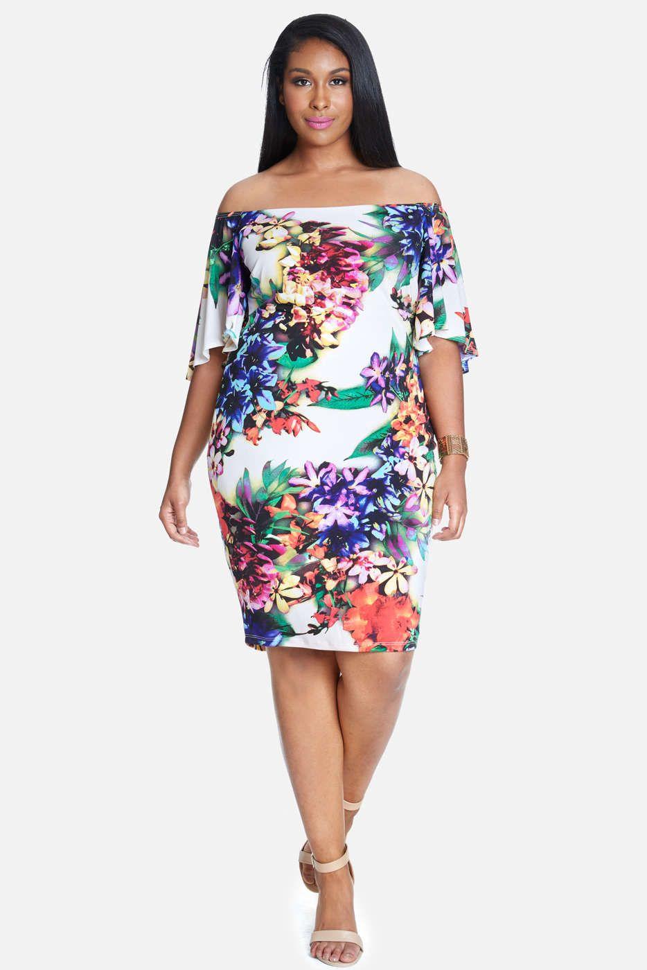 Plus size dresses fashion to figure