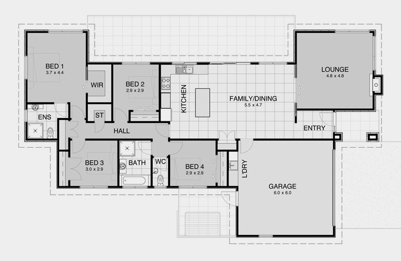 david reid homes contemporary 7 specifications house plans images - Plans For Houses