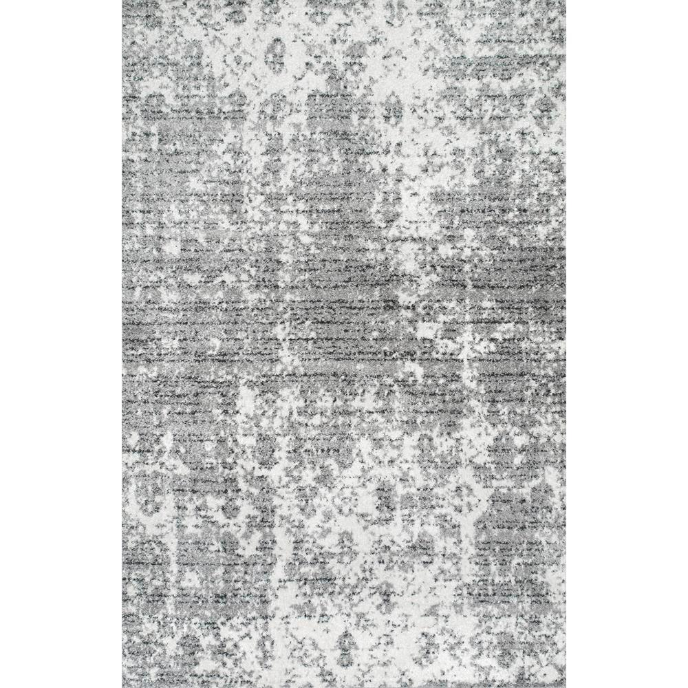 Nuloom Deedra Misty Contemporary Gray 8 Ft X 12 Ft Area Rug Bdsm08a 860116 Area Rugs Grey Area Rug Area Rug Sizes