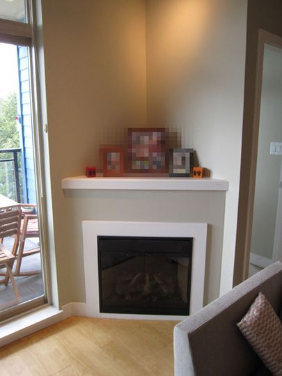 Ideas for decorating with a corner fireplace raising Corner fireplace makeover ideas