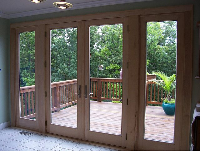 Kathleen Boone  RBA Customer Homes  French doors patio
