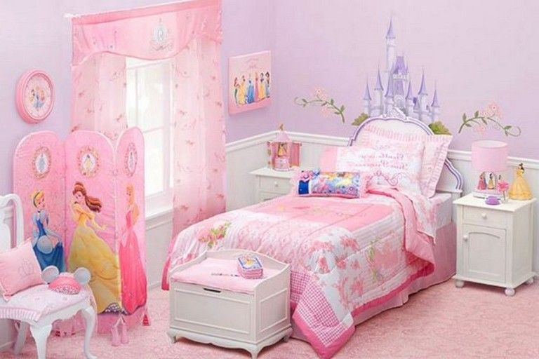 45 Beautiful Disney Princess Bedroom Ideas For Your Beloved Kids