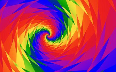 Rainbow Vortex 3d And Cg Wallpaper Id 283209 Desktop Nexus