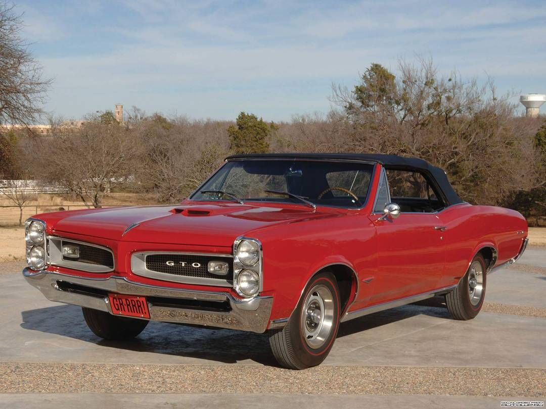1966 Pontiac GTO Convertible From 60s and 70s American Cars on ...