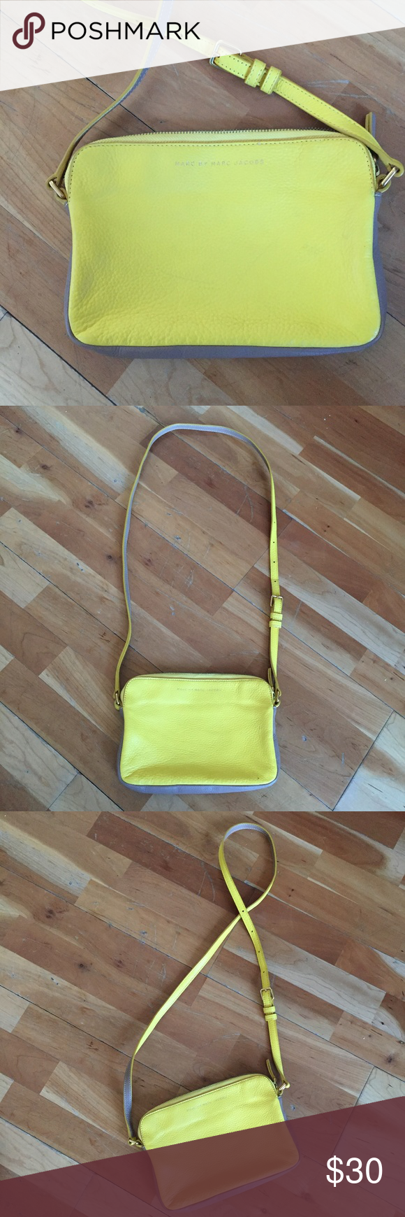d235ecfe9ba MARC BY MARC JACOBS Crossbody Bag, Khaki Yellow Minimalist