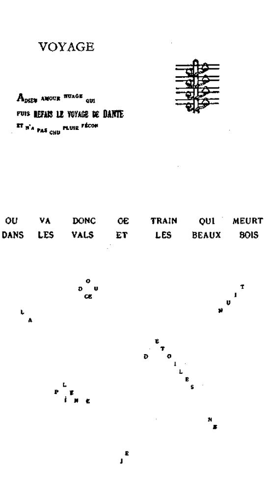 Voyage Ondes Calligrammes Poèmes De La Paix Et De La