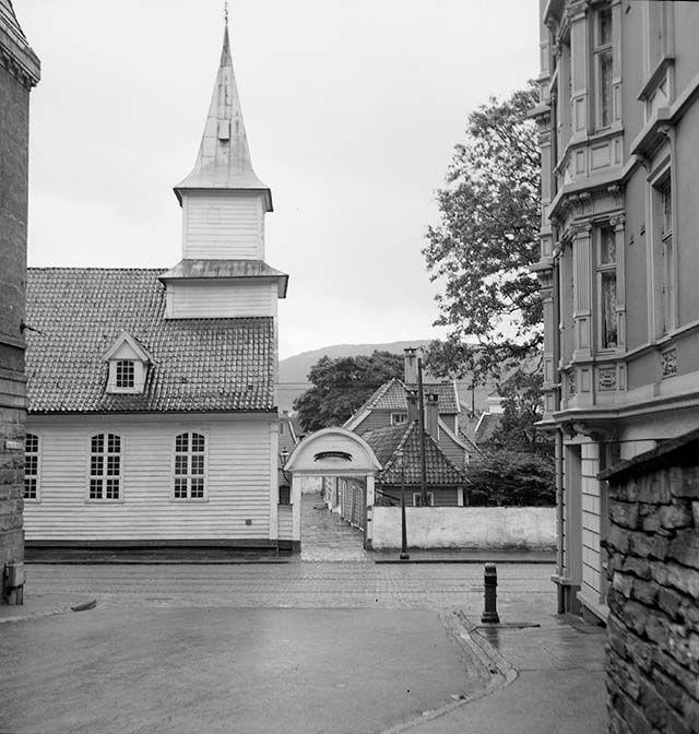 Hospitalkirken, St. Jørgen hospital fra marcus.uib.no