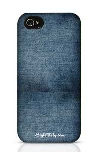 566168de485ecc Faded Blue Jeans Apple iPhone 4S Phone Case
