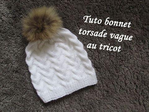TUTO TRICOT APPRENDRE A TRICOTER UN BONNET AU POINT DE GODRON TRICOT FACILE !!!! - YouTube ...