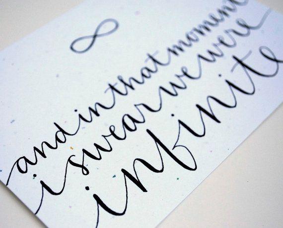 :) love the hand writing.