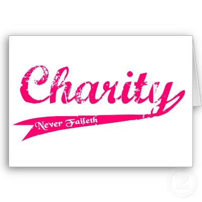 Charity Never Faileth LDS Relief Society Greeting Cards from http – Charity Birthday Cards