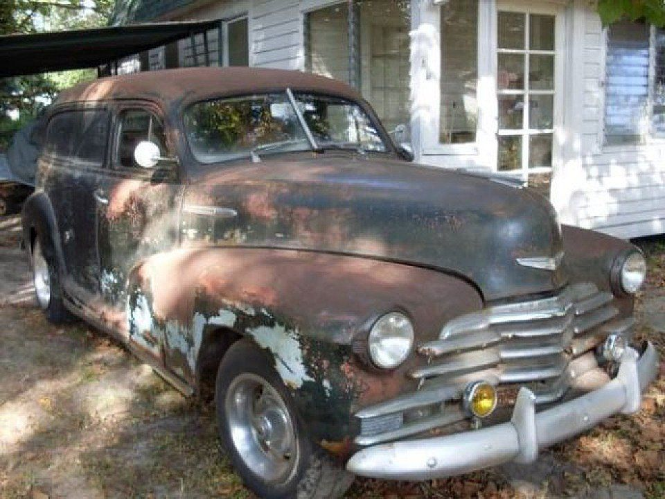 1948 Chevy Sedan Delivery... I am in love. https://classics ...