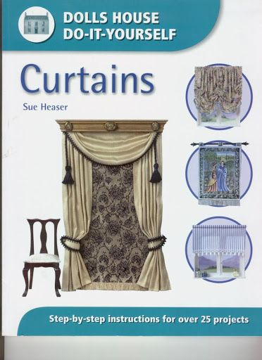 DOLLS HOUSE CURTAINS BLINDS SELECTION