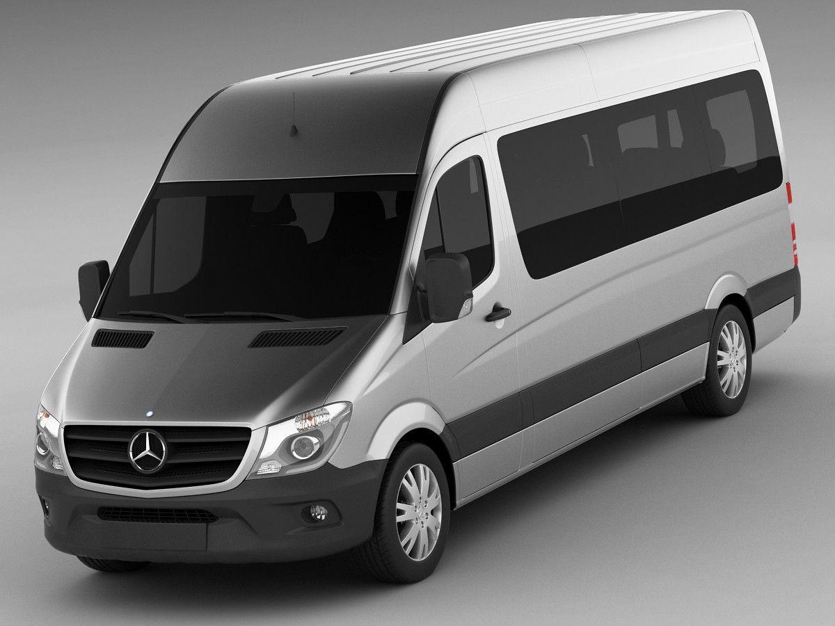 3d Mercedes Sprinter Bus S Izobrazheniyami Avtomobili Transport