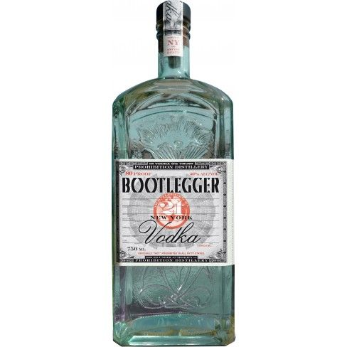Bootlegger 21 New York Vodka Vodka Distillery Craft Spirits
