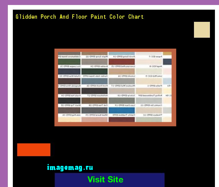 Glidden Porch And Floor Paint Color Chart 095148 The Best Image