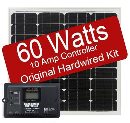 Zamp Solar Zs 60 10a 60 Watt 10 Amp Original Kit Solar Energy Panels Cheap Solar Panels Solar Energy