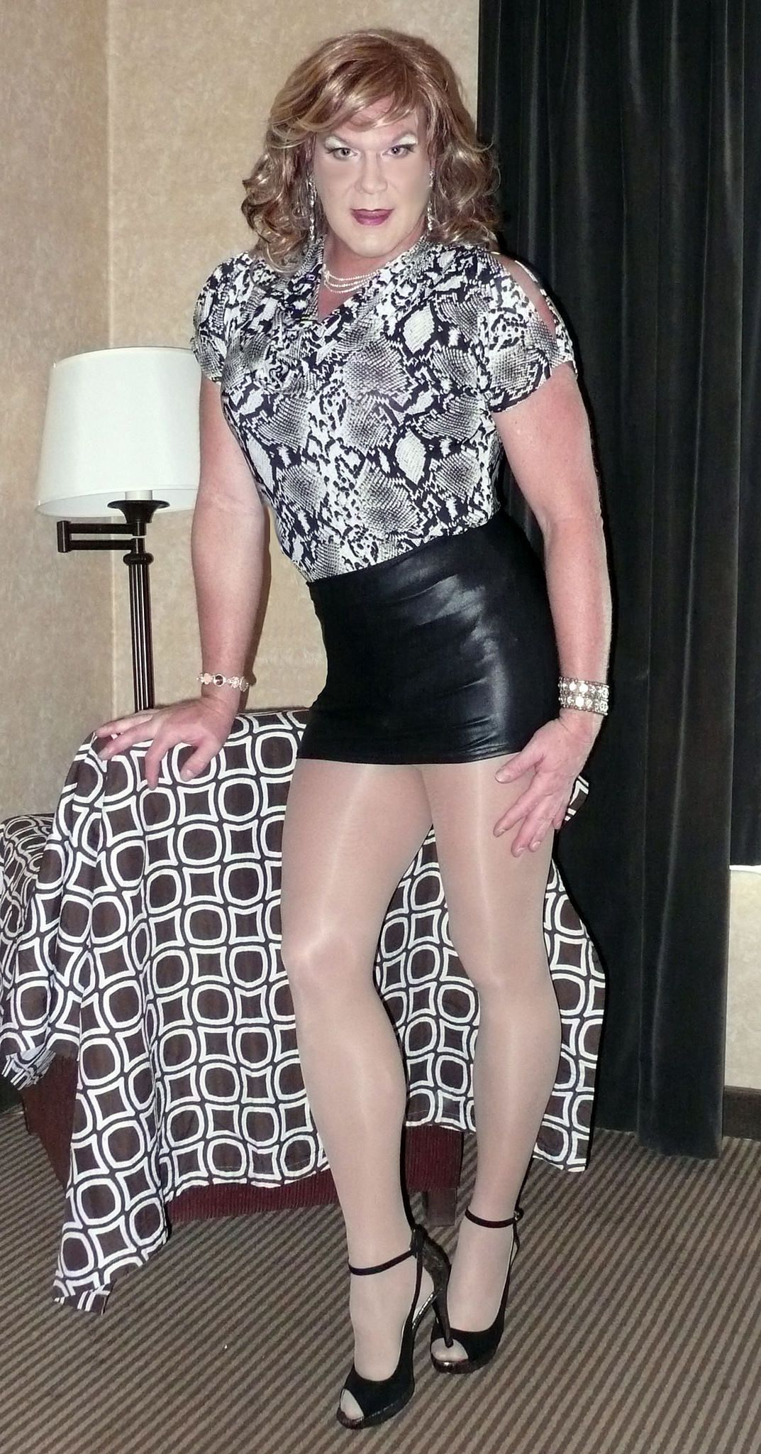Crossdresser heels flickr