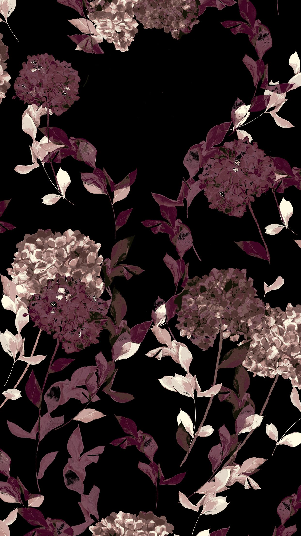 Pin By Sansa On Aes Floral Iphone Wallpaper Navy Wallpaper