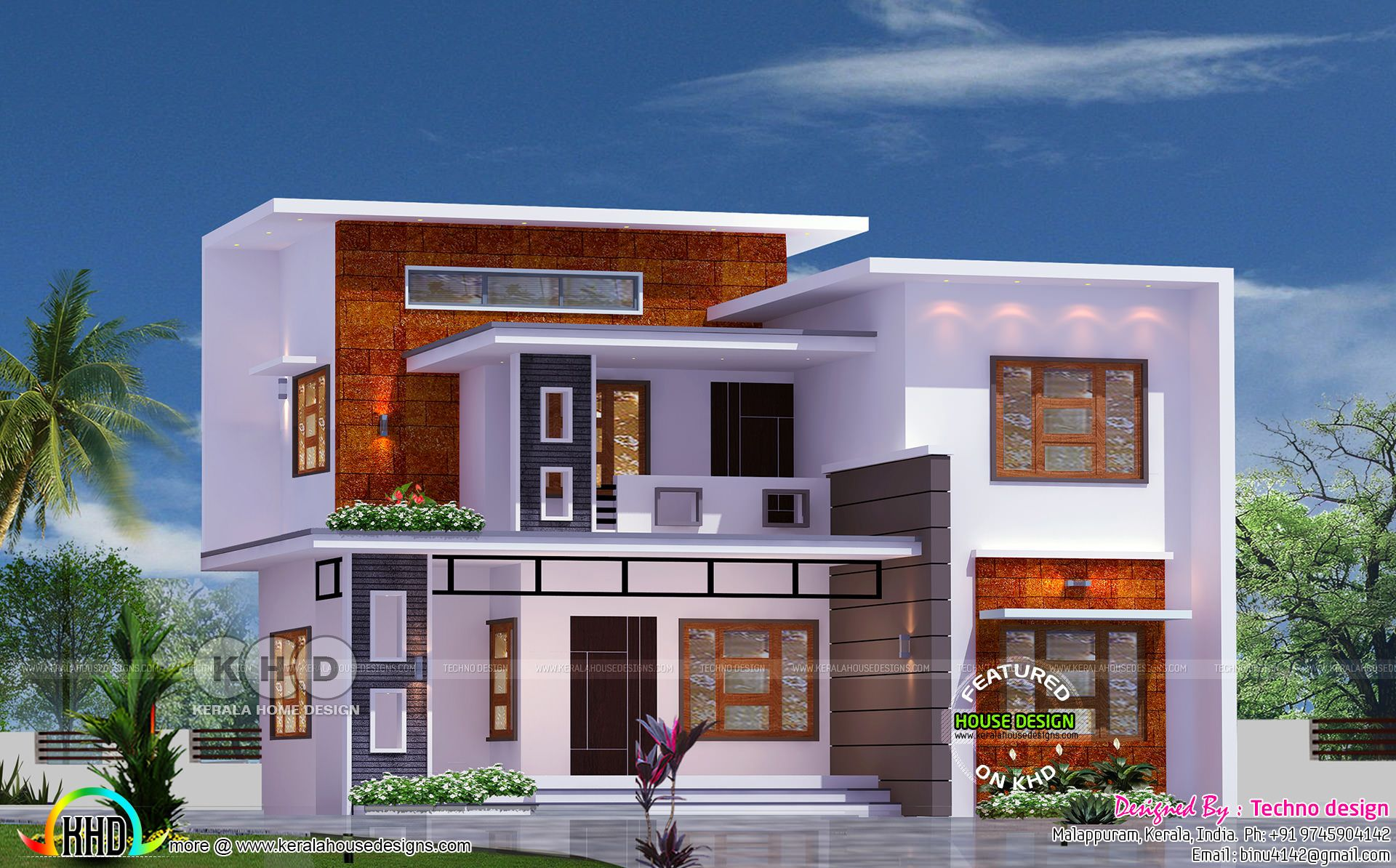 20 Lakhs 4 Bhk Home 1580 Sq Ft In 2020 Kerala House Design Duplex House Design House Outside Design