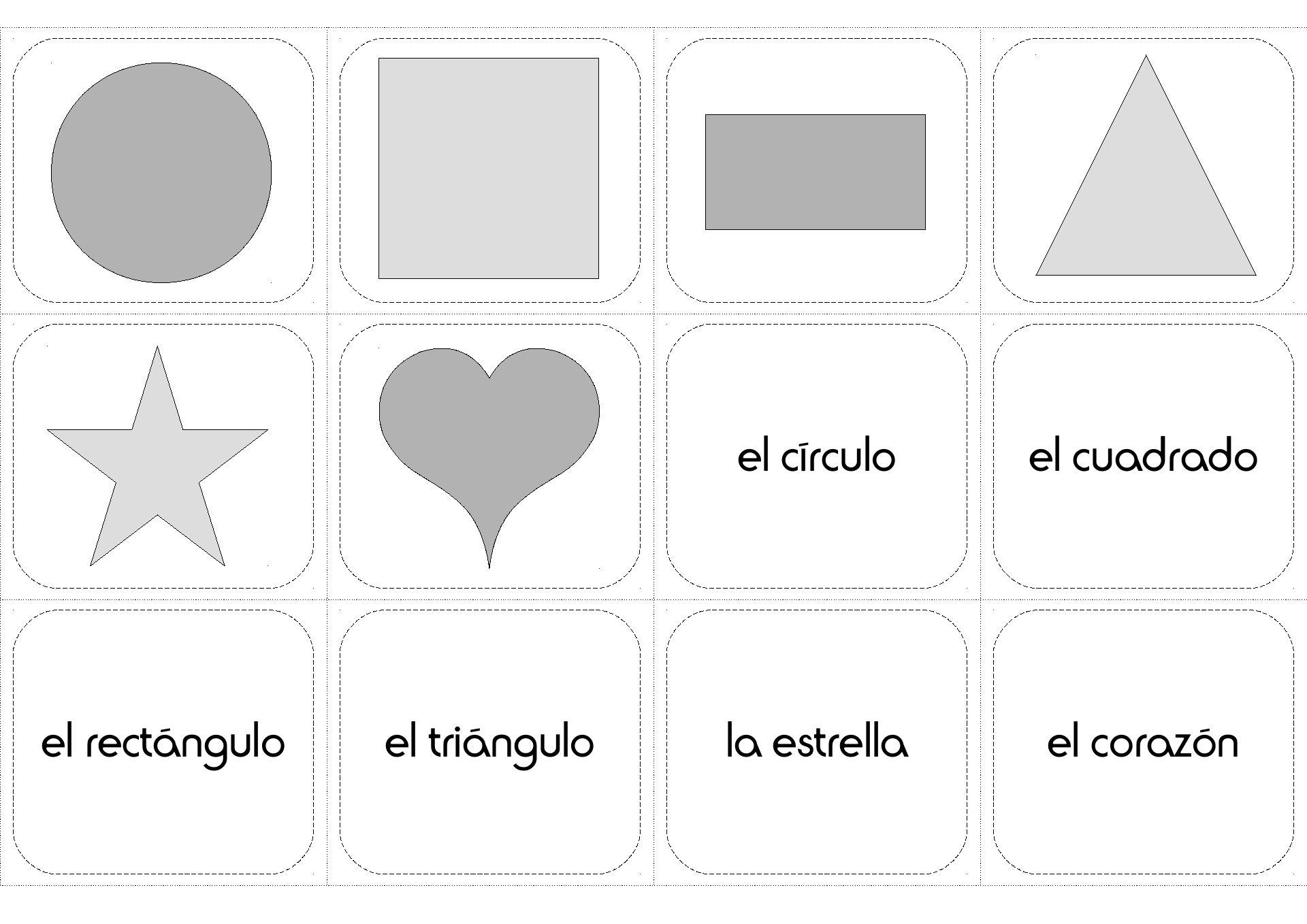 Las Formas Espanol Ninos Actividades Shapes In Spanish For Kids Worksheet Shapes In Spanish Shapes Worksheets Activity Pack