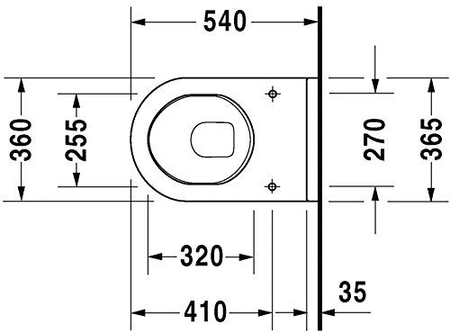 Duravit 2200090000 Starck 3 Wall Mount Toilet Bowl Find Out More About The Great Product At The Image Link Duravit Wall Mounted Toilet Toilet Wall