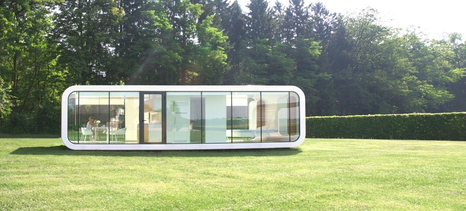 Contemporary Mobile Home Design Tribute To Peaceful Living: Elegant Coodo  Modular Units