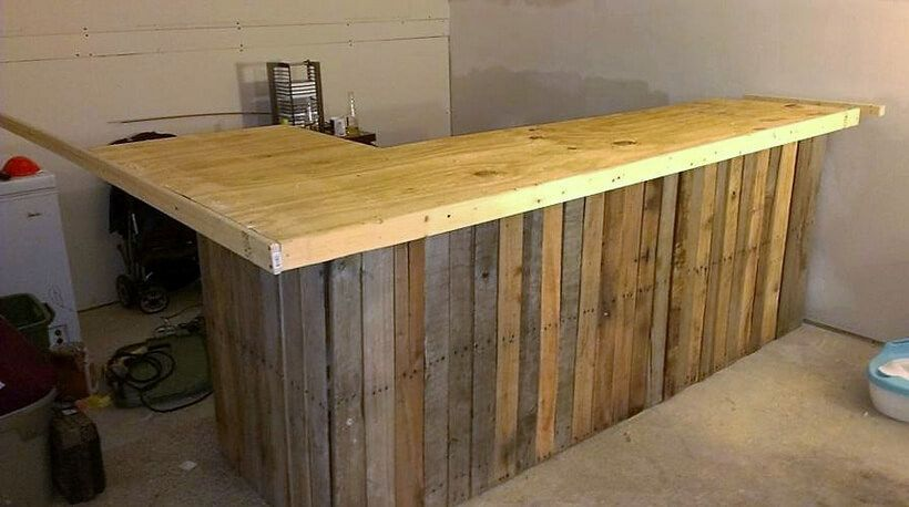 awesome ideas for wood pallets made bars pallet bar on inventive ideas to utilize reclaimed wood pallet projects all you must to know id=83691