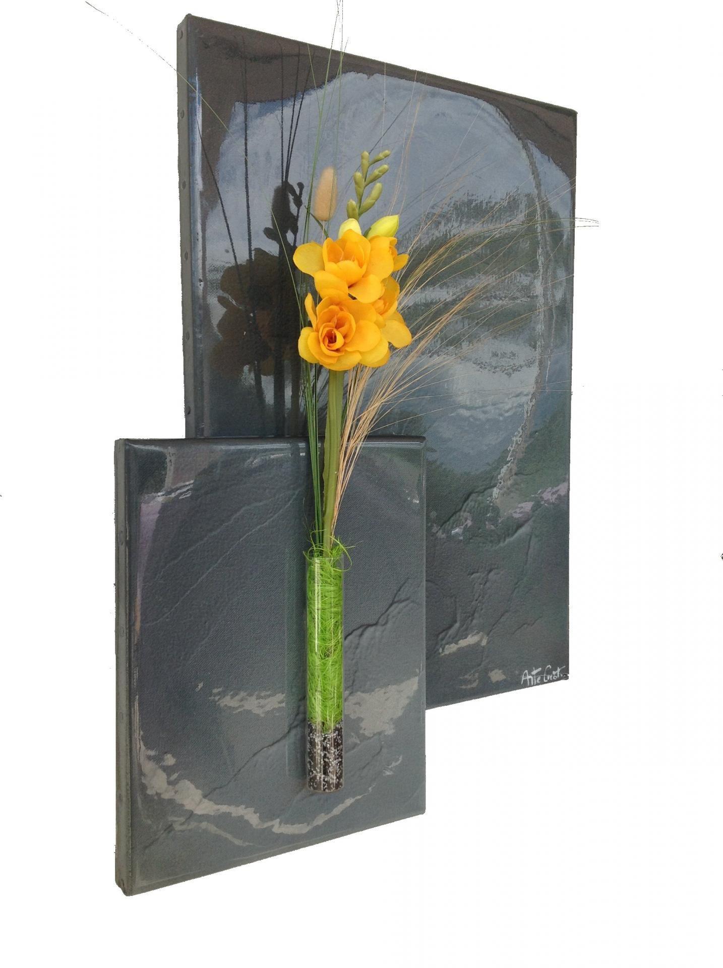 deco florale murale. Black Bedroom Furniture Sets. Home Design Ideas