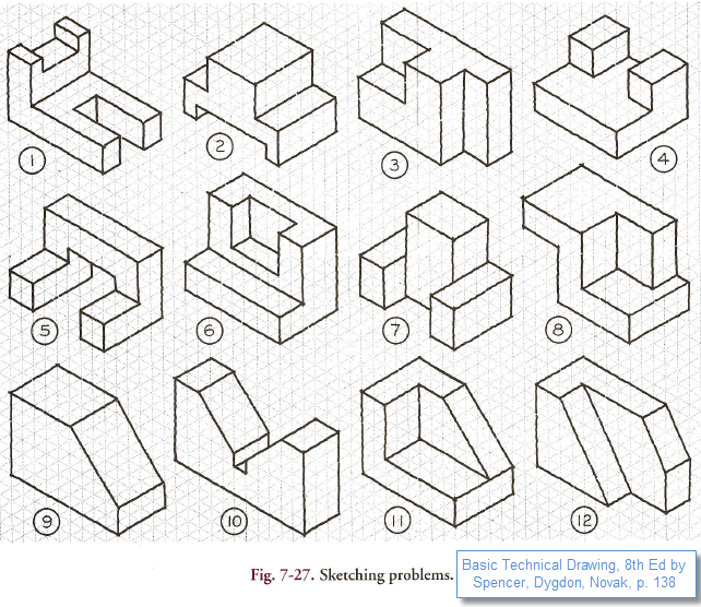 dimensioning practice worksheets - Google Search | PLTW ...