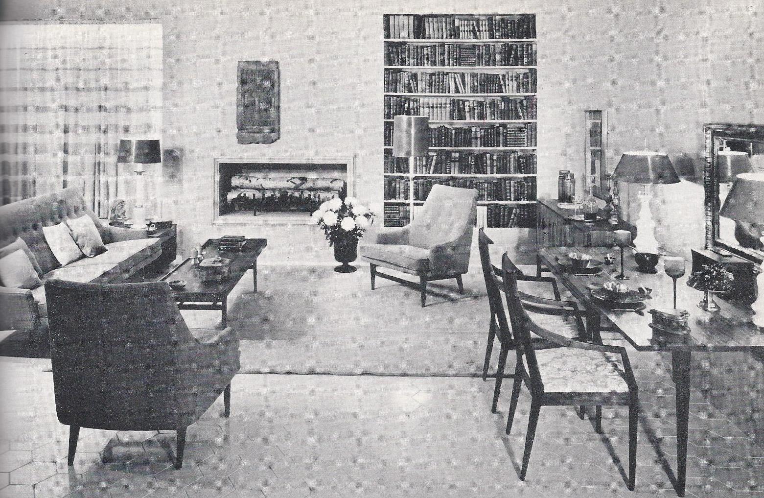 1960\'s Home Decor | Vintage Home Decorating 1960s: How to Arrange ...