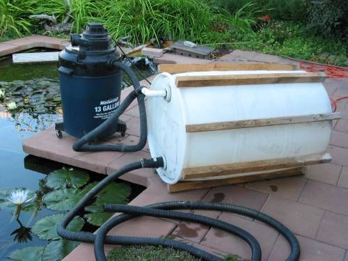 Diy pond vacuum diy pond water pond ponds backyard for Koi pond vacuum