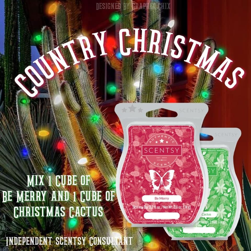 Be Merry; Christmas Cactus in 2020 (With images) Scentsy